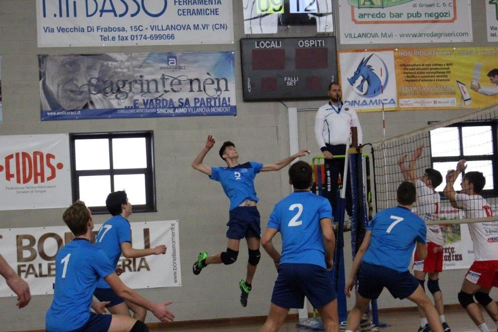Turco Arredamento Mondovi : Volley u16 m: villanova mondovì approda ai quarti di finale
