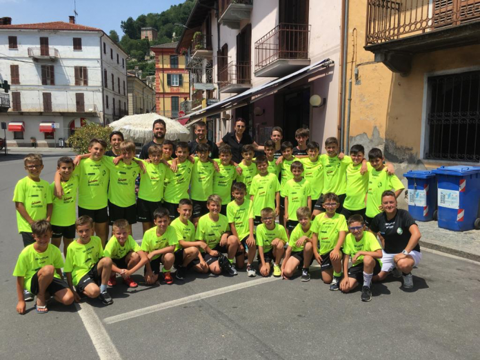 Partecipanti Camp Estivo Caraglio Calcio