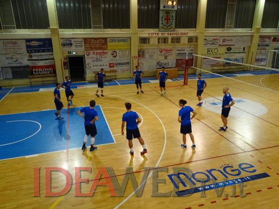 Gerbaudo Volley Savigliano Preparazione