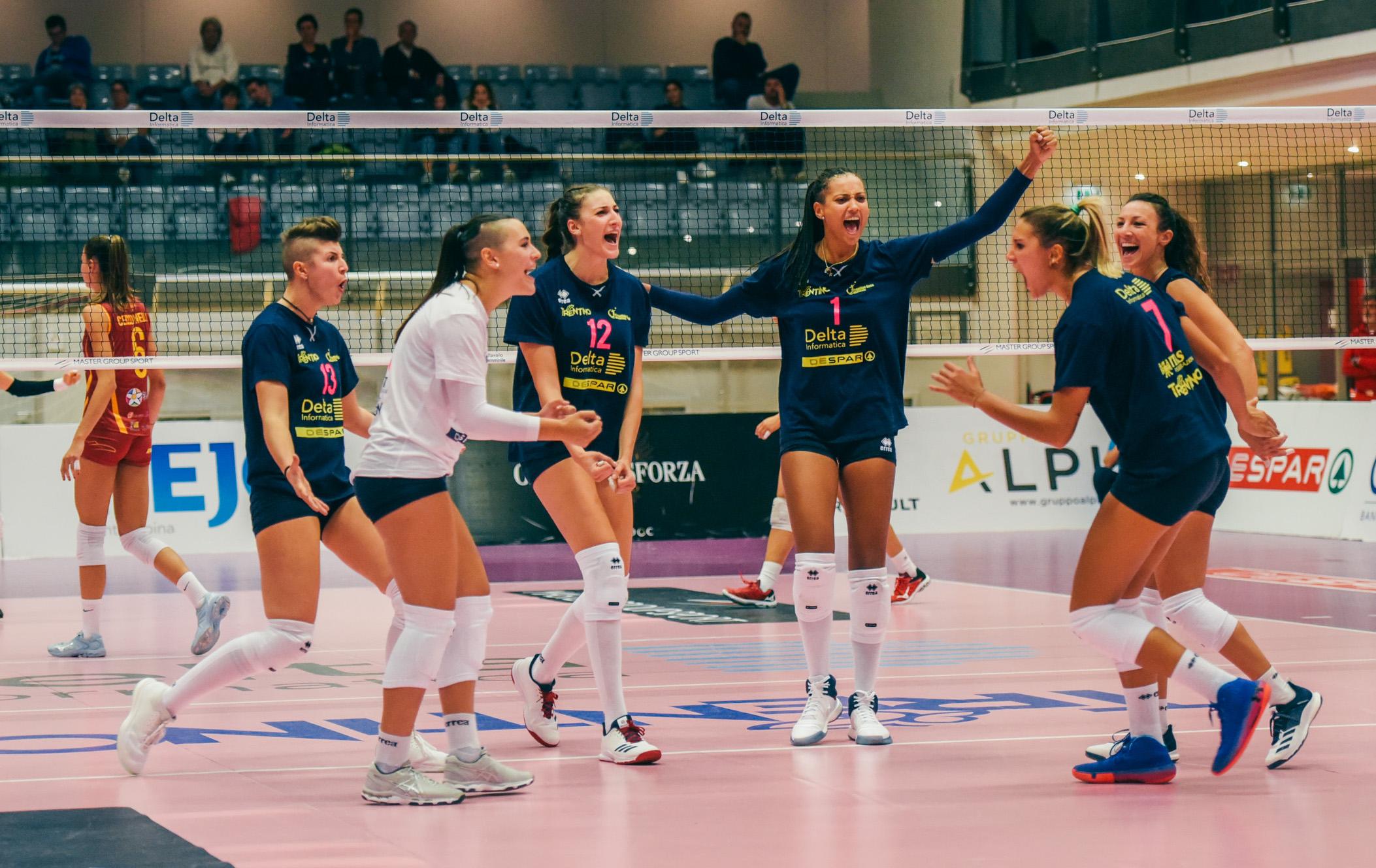 Volley A2/F: nel Girone A quattro vittorie esterne, nel B