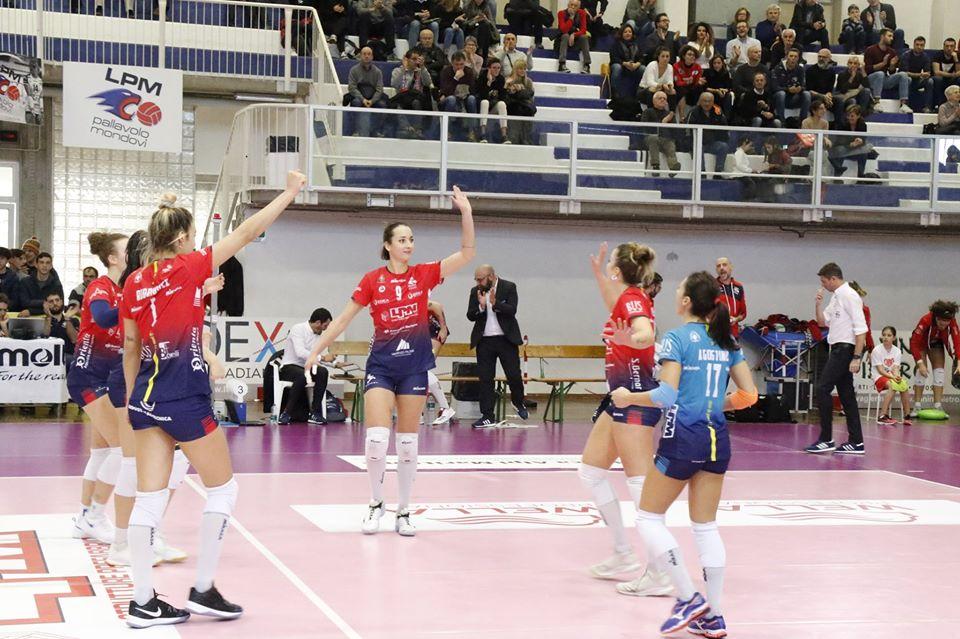 Volley A2/F: LPM Bam Mondovì schiaccia anche Baronissi 3-1 - IdeaWebTv