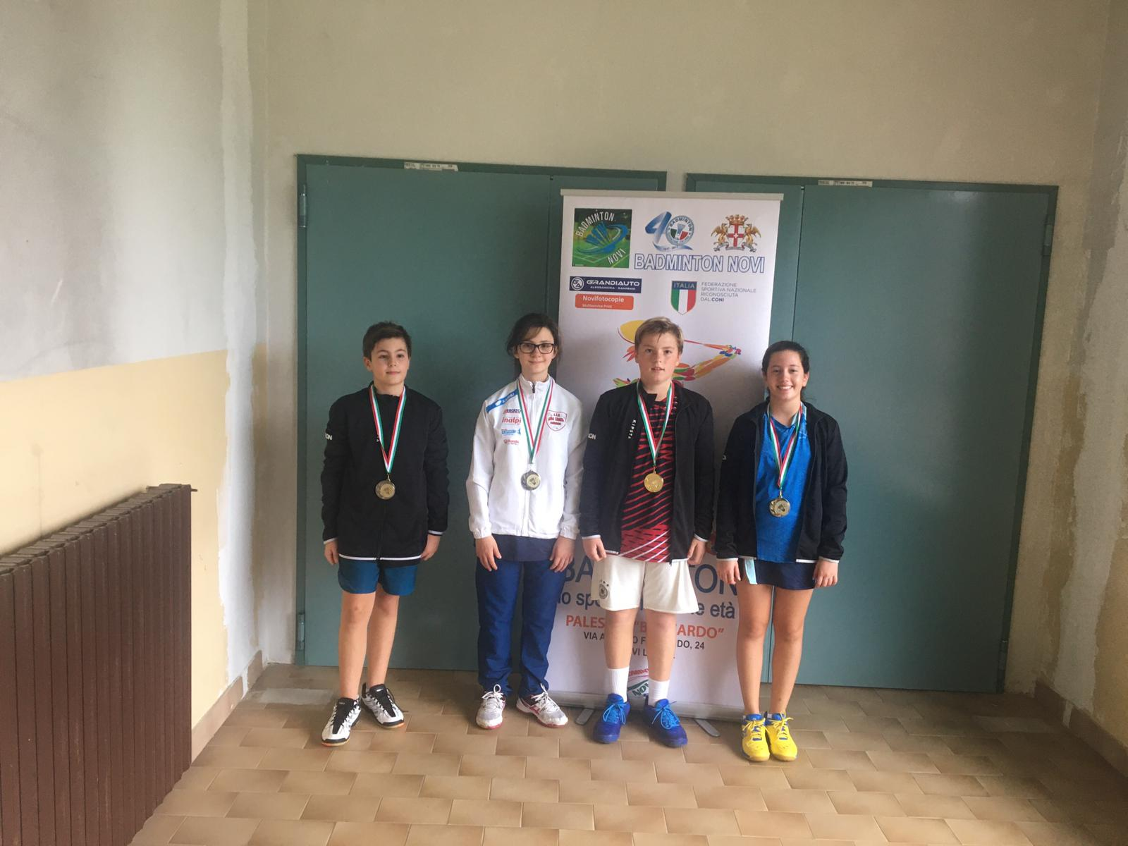 Badminton: Alba Shuttle, continua l'ottimo momento! Altre medaglie da Novi Ligure - IdeaWebTv