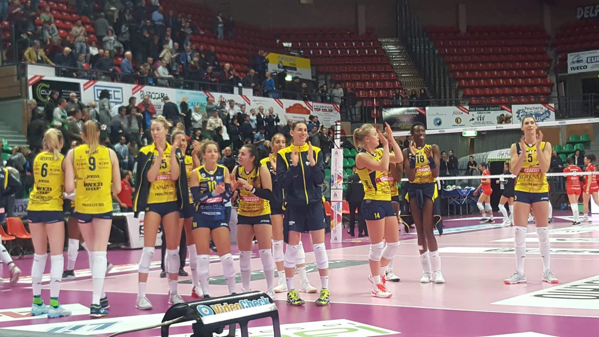 Volley A1/F: Conegliano è ancora di un'altra categoria, Cuneo ko 3-0 - IdeaWebTv