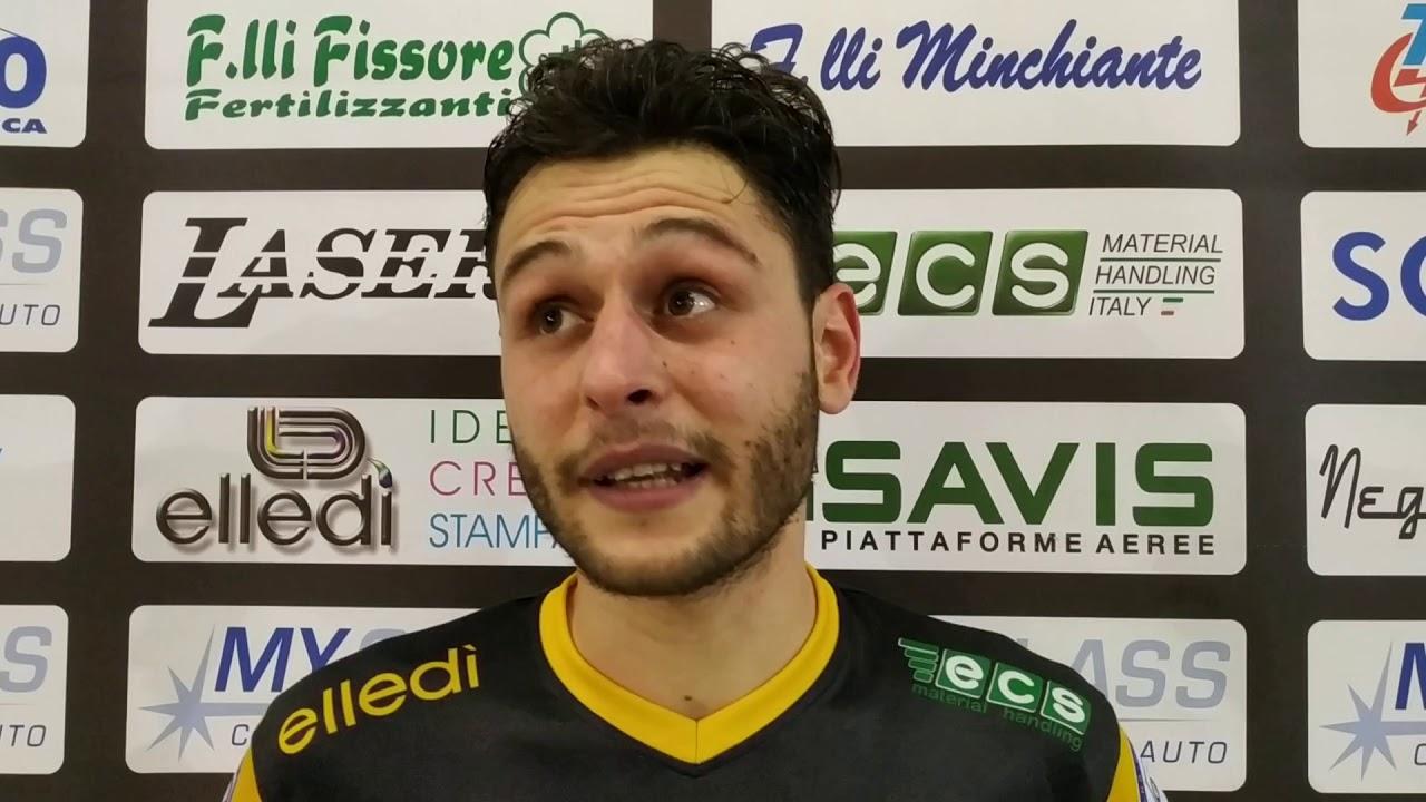 """Piazza, il match-winner di Elledì Carmagnola-Rhibo Fossano: """"Partita tiratissima, ci dà morale e una spinta in classifica"""" (VIDEO) - IdeaWebTv"""