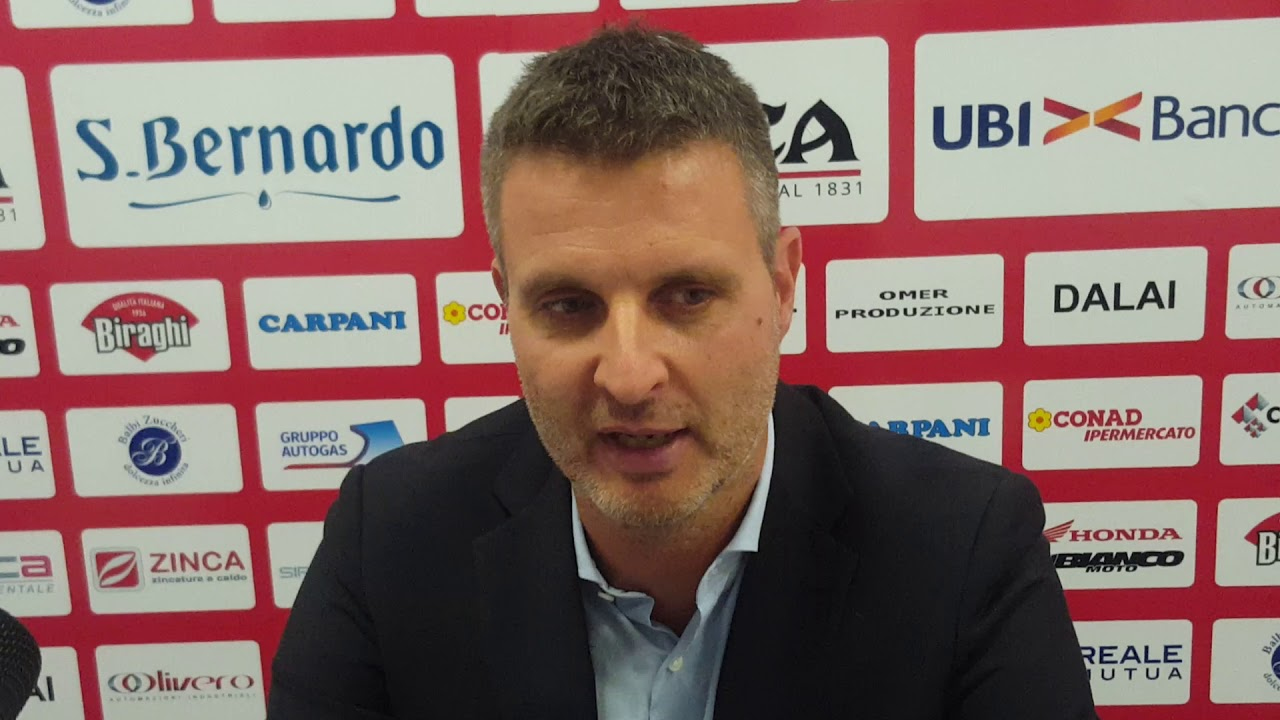 """Cuneo-Conegliano 0-3, Pistola: """"Momento non semplice, ripartiamo dalle cose positive"""" (VIDEO) - IdeaWebTv"""