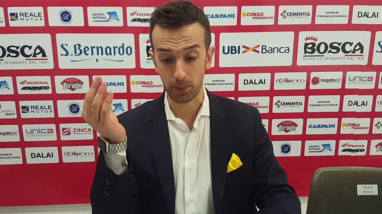 """Cuneo-Conegliano 0-3, coach Santarelli: """"Abbiamo ancora margini di miglioramento"""" (VIDEO) - IdeaWebTv"""