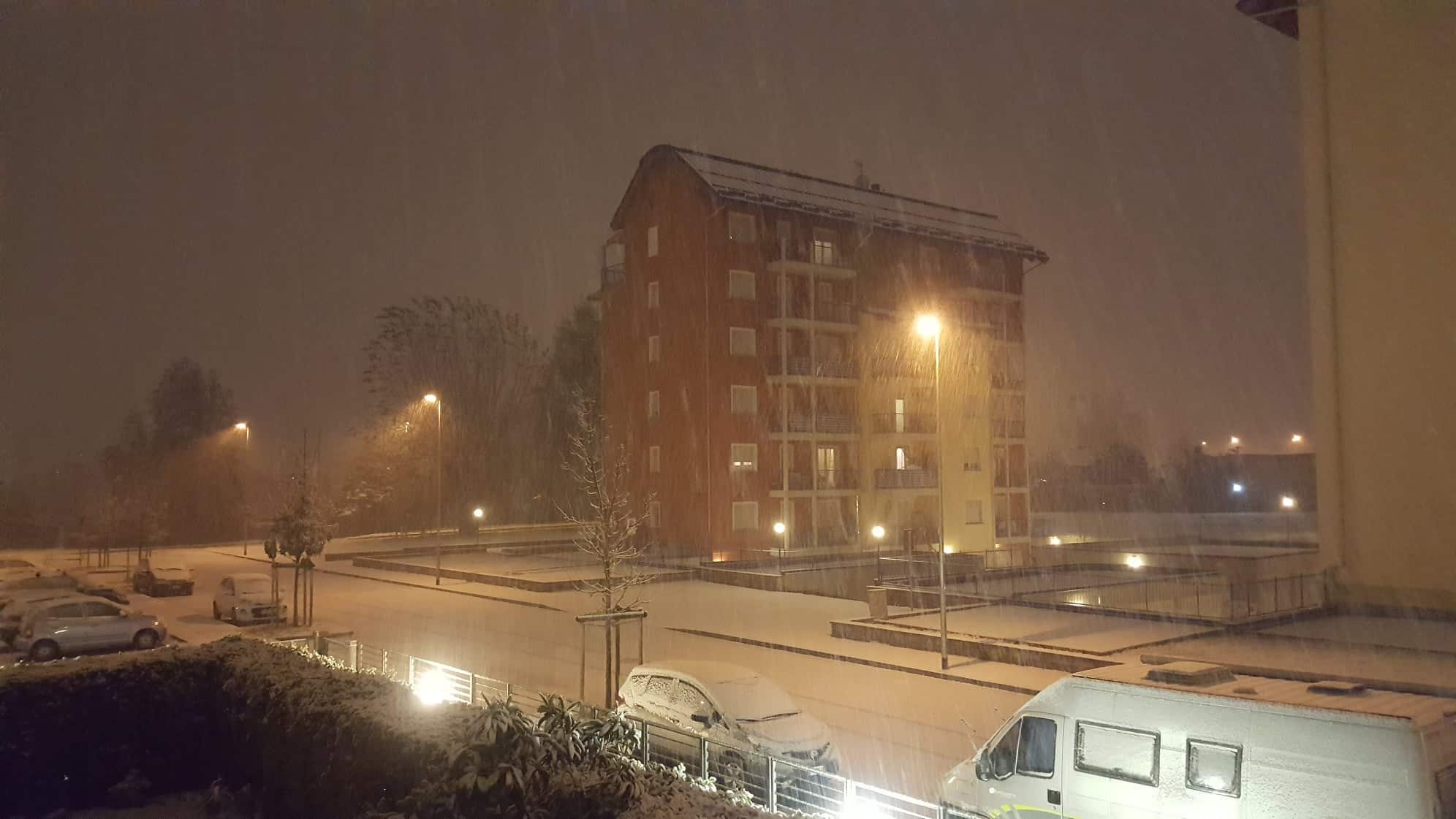 Meteo: Cuneo, è arrivata la neve! (GUARDA I VIDEO) - www ...