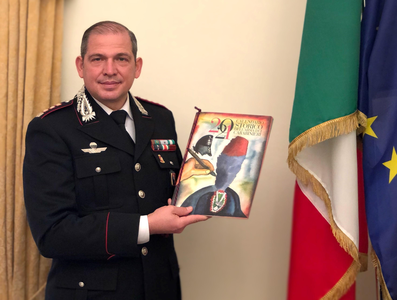 Presentato il Calendario Storico 2021 dell'Arma dei Carabinieri